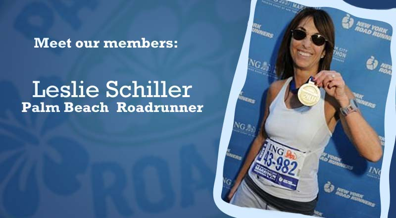 Meet Palm Beach Roadrunner Leslie Schiller