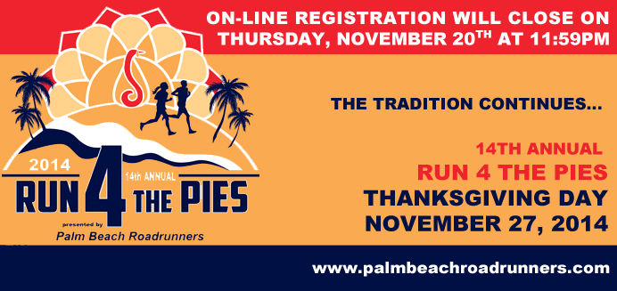 Run 4 the Pies