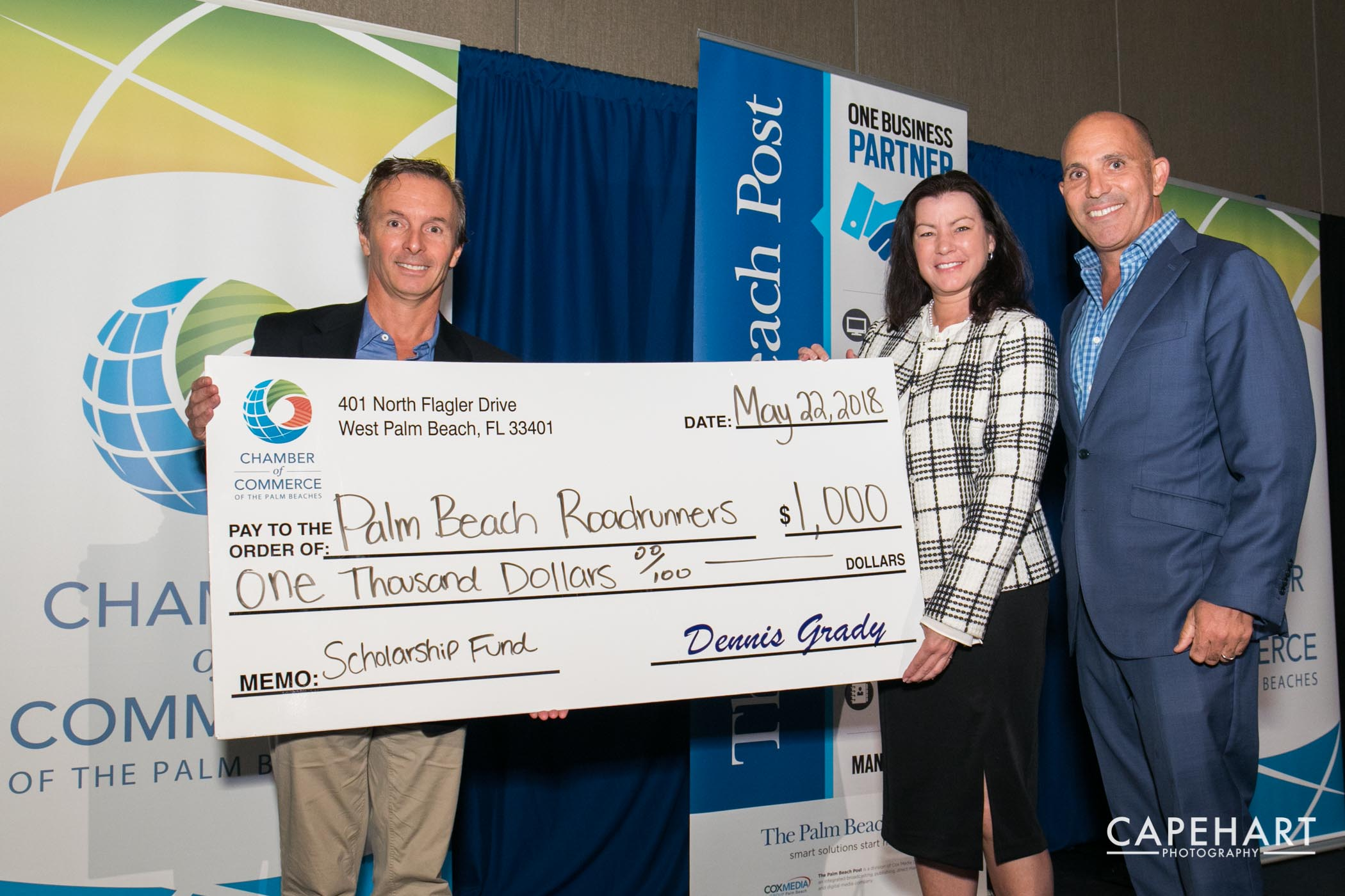 The Chamber Of Commerce Of The Palm Beaches Presented The